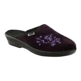 Befado obuwie damskie pu 219D425 fioletowe 2
