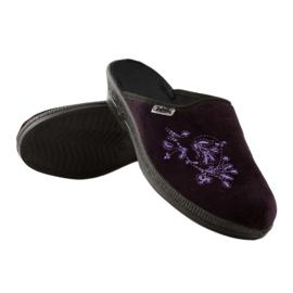 Befado obuwie damskie pu 219D425 fioletowe 4