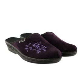 Befado obuwie damskie pu 219D425 fioletowe 5