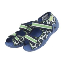 Befado zielone obuwie dziecięce 250P078 4