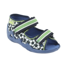 Befado zielone obuwie dziecięce 250P078 2