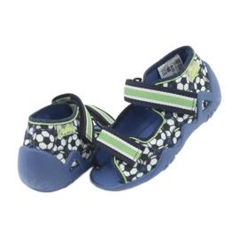 Befado zielone obuwie dziecięce 250P078 5