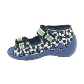 Befado zielone obuwie dziecięce 250P078 3