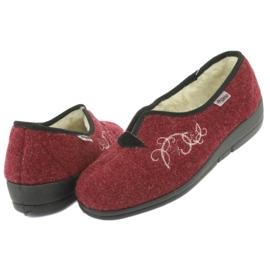 Befado obuwie damskie pu 940D355 czerwone 5