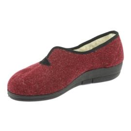 Befado obuwie damskie pu 940D355 czerwone 3