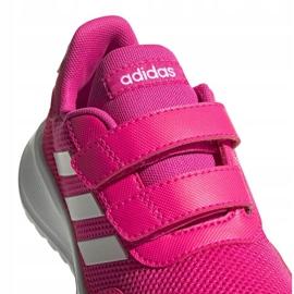 Buty adidas Tensaur Run Jr EG4145 różowe 3
