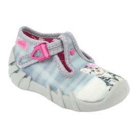 Befado kotek obuwie dziecięce 110P365 szare 1