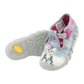 Befado kotek obuwie dziecięce 110P365 szare 4