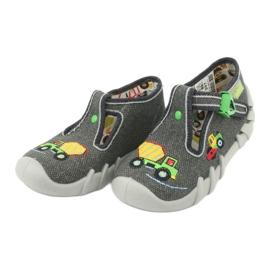 Befado obuwie dziecięce 110P357 szare 3
