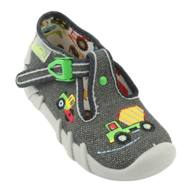 Befado obuwie dziecięce 110P357 szare 1