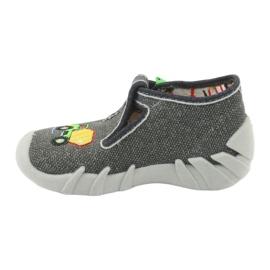 Befado obuwie dziecięce 110P357 szare 2