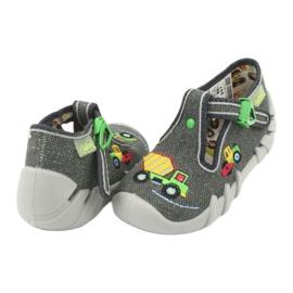 Befado obuwie dziecięce 110P357 szare 4