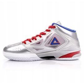 Buty do koszykówki Peak TP9 Quickness 2 E33323A M 62266-62270 srebrny szare 1