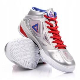 Buty do koszykówki Peak TP9 Quickness 2 E33323A M 62266-62270 srebrny szare 3