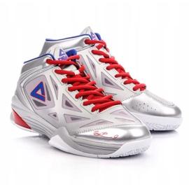 Buty do koszykówki Peak TP9 Quickness 2 E33323A M 62266-62270 srebrny szare 4