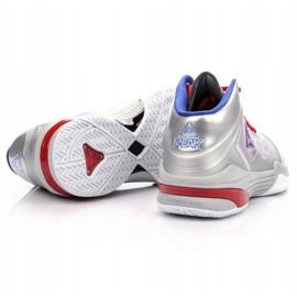 Buty do koszykówki Peak TP9 Quickness 2 E33323A M 62266-62270 srebrny szare 5