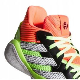 Buty adidas Harden Stepback M EF9890 zielone wielokolorowe 4