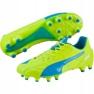 Buty piłkarskie Puma Evo Speed 1.4 Lth Fg M 103615 03 żółte żółty 1