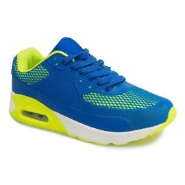 Sportowe obuwie do biegania DN3-8 Royal niebieskie 4