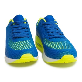 Sportowe obuwie do biegania DN3-8 Royal niebieskie 1