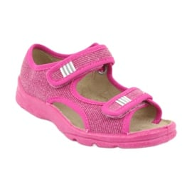 Befado obuwie dziecięce 113X009 różowe 3