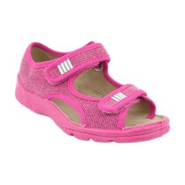 Befado obuwie dziecięce 113X009 różowe 2