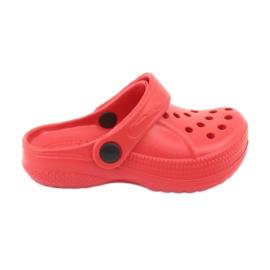 Befado inne obuwie dziecięce - czerwony 159X005 czerwone 2