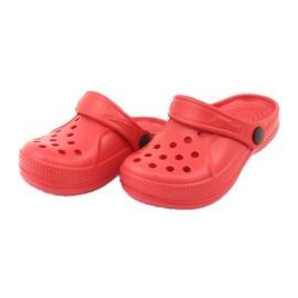 Befado inne obuwie dziecięce - czerwony 159X005 czerwone 5