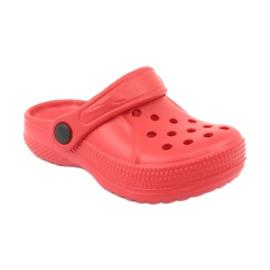 Befado inne obuwie dziecięce - czerwony 159X005 czerwone 3