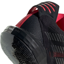 Buty adidas Dame 6 M EF9866 wielokolorowe czarne 1