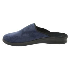 Befado obuwie męskie pu 548M018 niebieskie 3