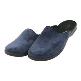 Befado obuwie męskie pu 548M018 niebieskie 4