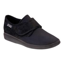Befado obuwie męskie pu 036M006 czarne 1
