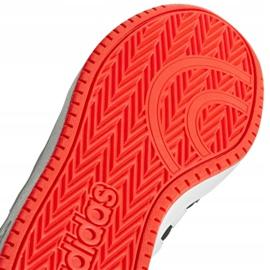 Buty adidas Hoops 2.0 Jr B76067 czarne czerwone 2