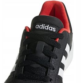 Buty adidas Hoops 2.0 Jr B76067 czarne czerwone 3