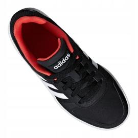 Buty adidas Hoops 2.0 Jr B76067 czarne czerwone 4