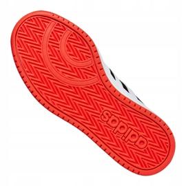 Buty adidas Hoops 2.0 Jr B76067 czarne czerwone 5