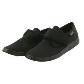 Befado obuwie męskie pu 036M006 czarne 4