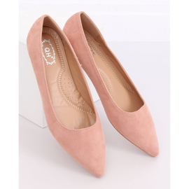 Baleriny w szpic różowe A822 Pink 4