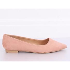 Baleriny w szpic różowe A822 Pink 3
