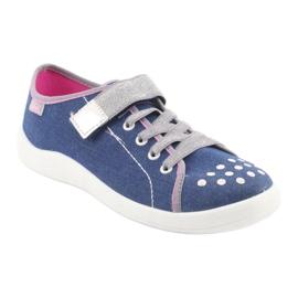 Befado obuwie dziecięce 251Q109 niebieskie 2