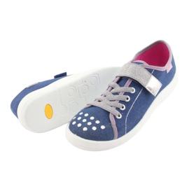 Befado obuwie dziecięce 251Q109 niebieskie 5