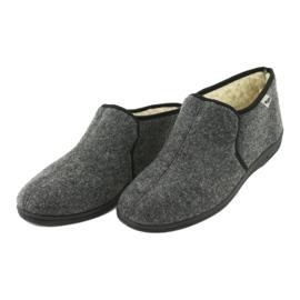 Befado obuwie męskie 730M045 szare 4