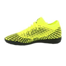 Buty piłkarskie Puma Future 4.4 Tt M 105690 03 żółty 2