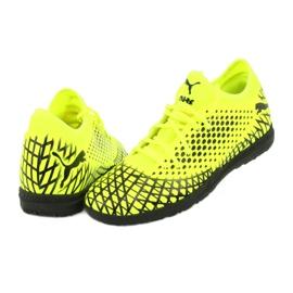 Buty piłkarskie Puma Future 4.4 Tt M 105690 03 żółty 4