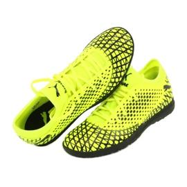 Buty piłkarskie Puma Future 4.4 Tt M 105690 03 żółty 6