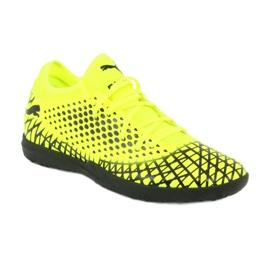 Buty piłkarskie Puma Future 4.4 Tt M 105690 03 żółty 1