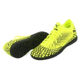 Buty piłkarskie Puma Future 4.4 Tt M 105690 03 żółty 5
