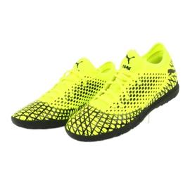 Buty piłkarskie Puma Future 4.4 Tt M 105690 03 żółty 3
