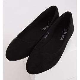 Baleriny gładkie czarne Z1005 Black 3